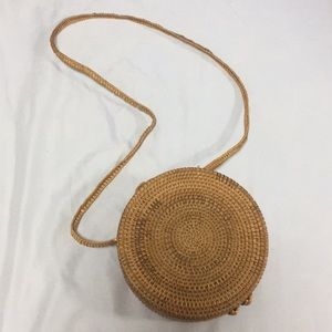 NEW Crossbody Wicker Bag